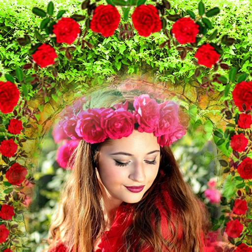 Garden Picture Frames: Nature Photo Editor Icon