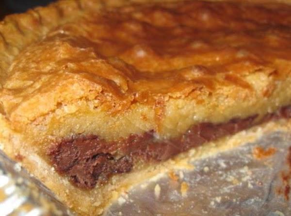 Cc-c-b Pie (like A Toll House Cooky Pie) Recipe
