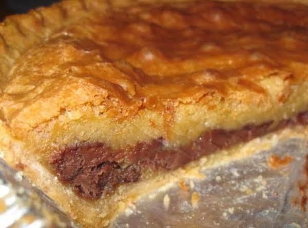 Cc-c-b Pie (like A Toll House Cooky Pie)