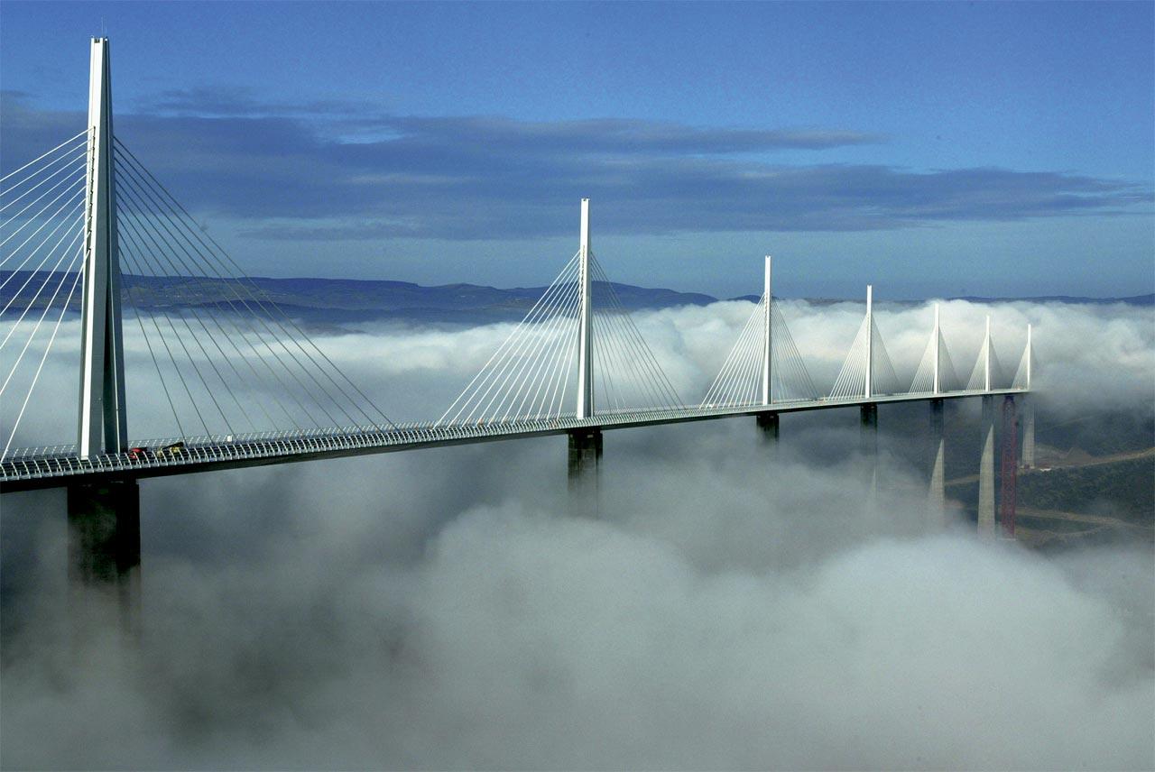 As maiores construções do mundo: viaduto de millau