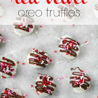 Red Velvet Oreo Truffles Recipe