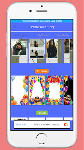 Download Frame Your Story - Birthday Anniversary Insta etc For PC Windows and Mac apk screenshot 8
