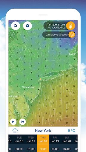 Ventusky: Weather Maps screenshot 3