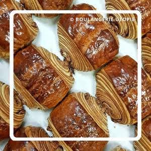 パリのパンオショコラ Utopie ユトピ