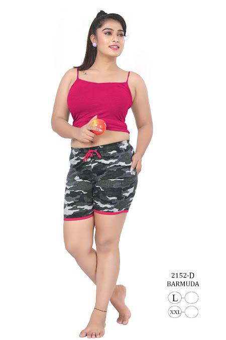Kavyansika Barmuda Series 2152 Women Shorts Catalog Lowest Price