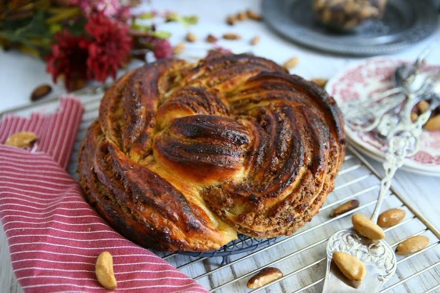 Twisted Brazil Nut Bread