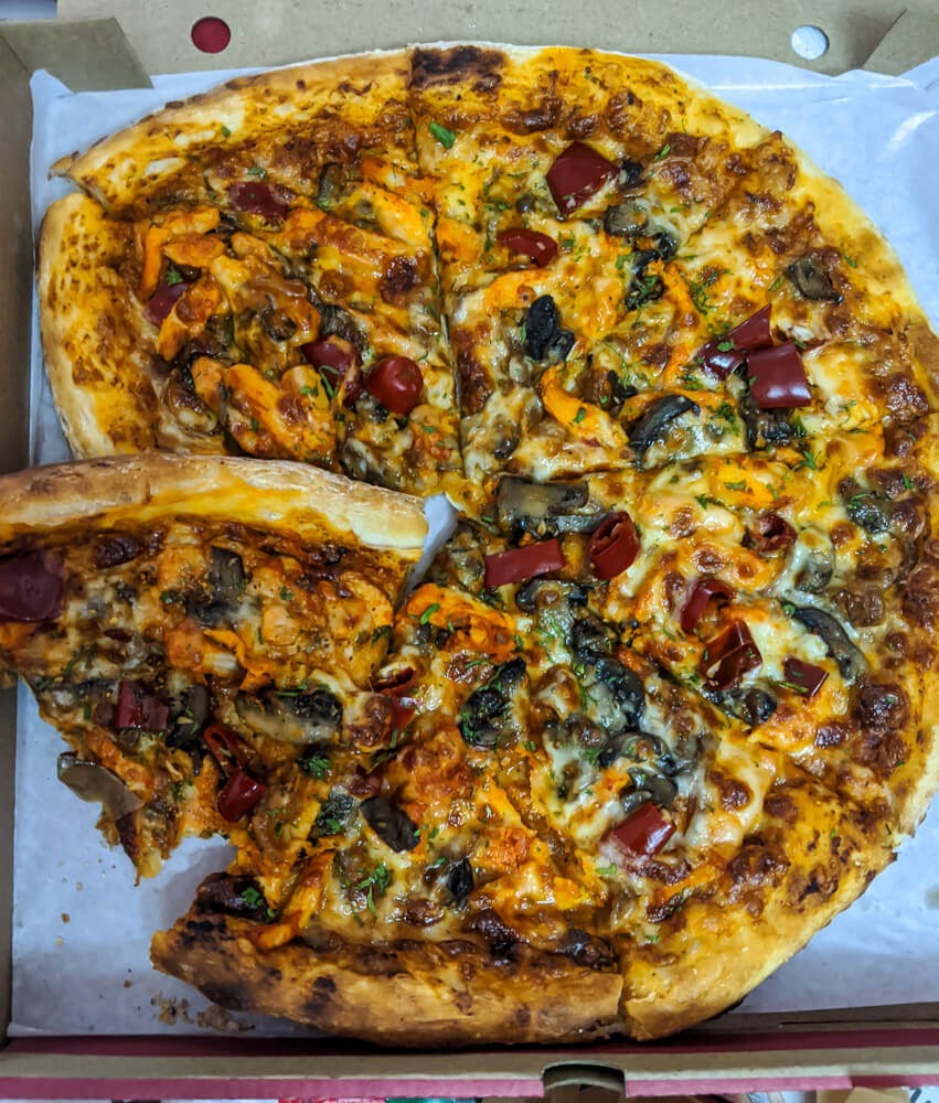 pizza in pandemic 2020 life bengaluru india.jpg