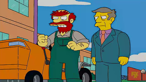 Los Simpsons 18x08 Extraña pareja