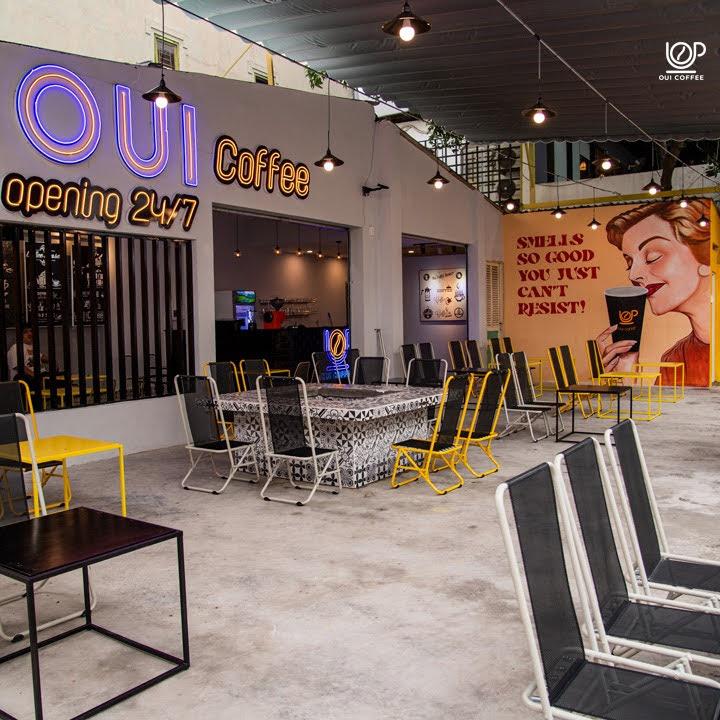 OUI Coffee 14C Nguyễn Quang Bích quận Tân Bình