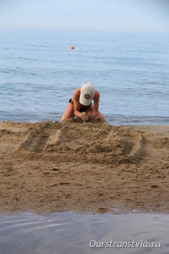 Море и пляж Светлогорска