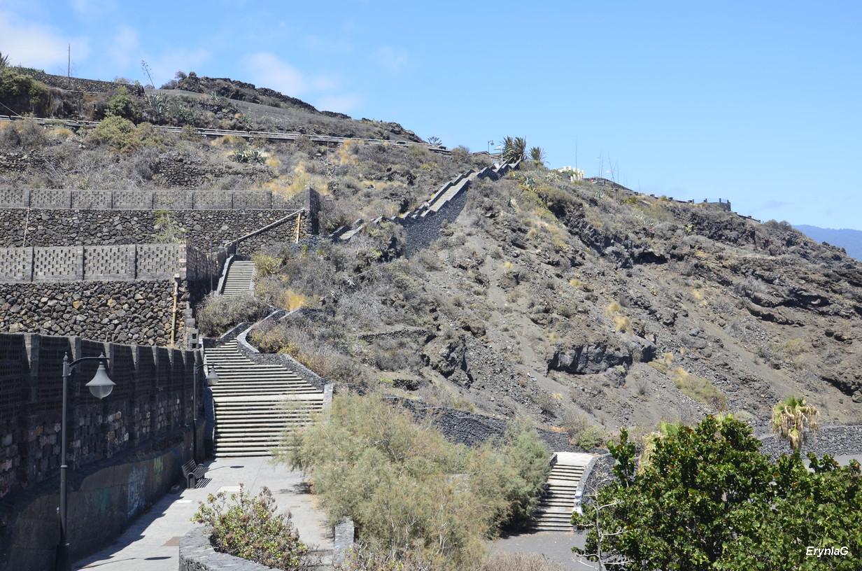 schody naplaya de los Cancajos