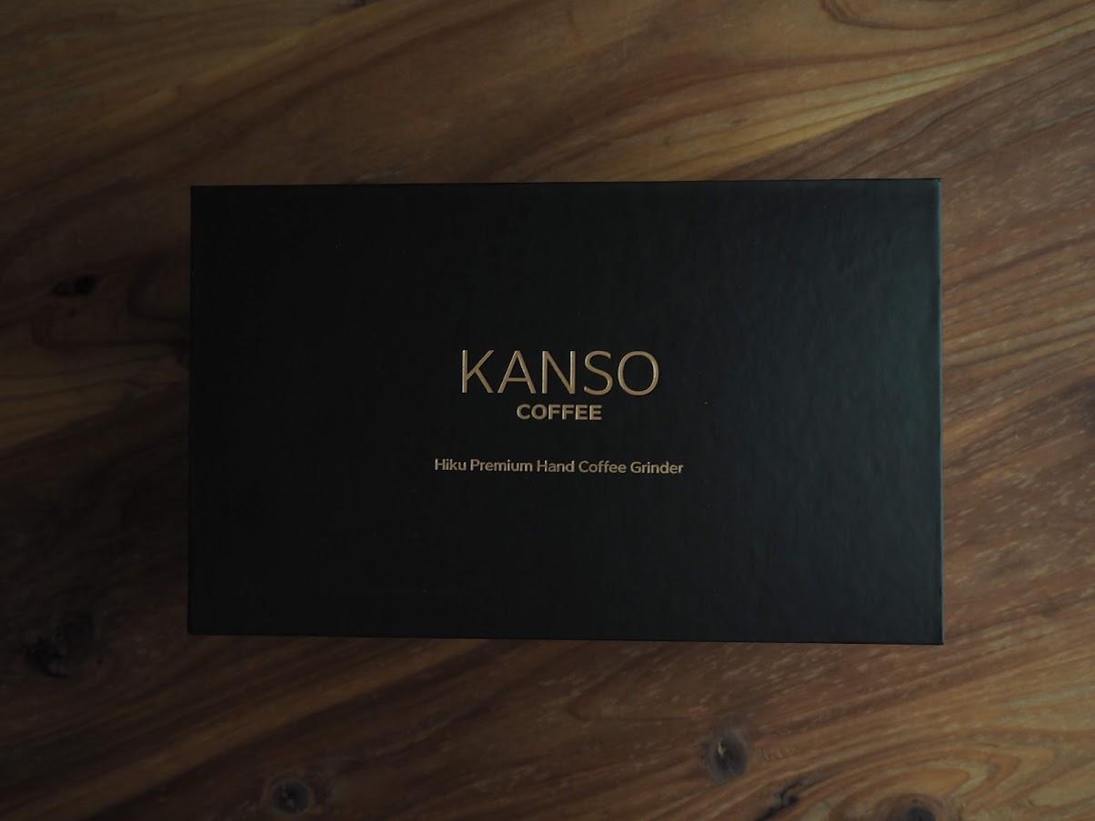 KANSO COFFEEの化粧箱