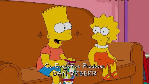 Los Simpsons 28x05 Confía, pero aclara