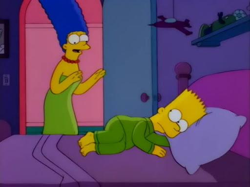 Los Simpsons 7x11 El bebé de Mamá