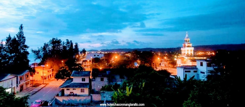Panoramica Hotel Chacon Manglaralto Ecuador