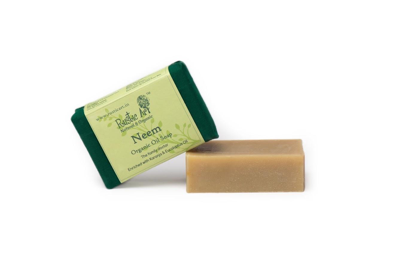 Rustic Art Neem Soap