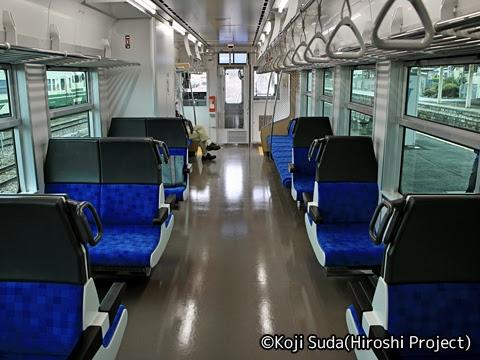 JR東日本 五能線 GV-E400系 車内