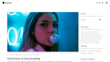 Blog Clásico