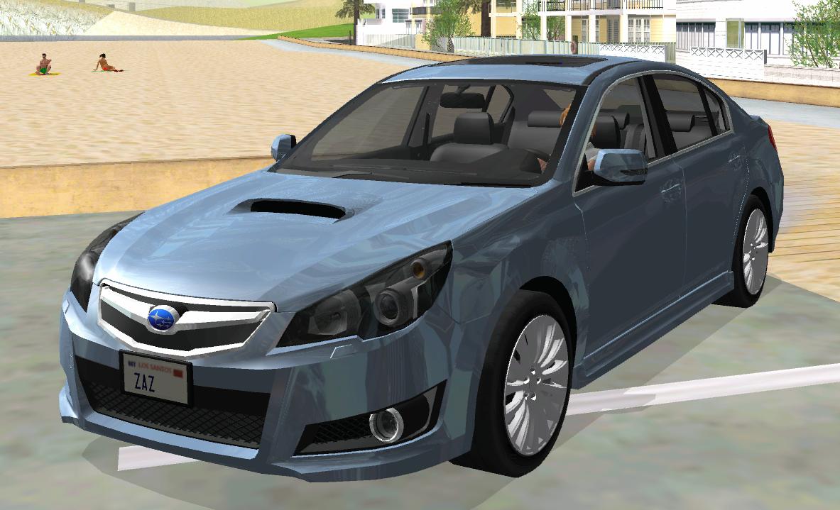 【車Mod】USDM! スバル レガシィ B4