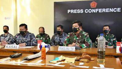 Panglima TNI Marsekal Hadi Tjahjanto Pastikan Seluruh Awak Kapal Selam KRI Nanggala 402 Meninggal Dunia