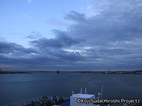 太平洋フェリー「きそ」 甲板 苫小牧出港_04