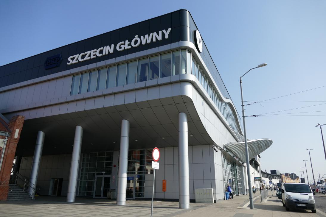 Der Stettiner Hauptbahnhof: Szczecin Glowny. (Archivbild ASC)