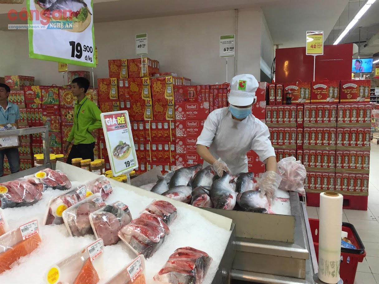 Nhiều sản phẩm, thương hiệu Nghệ An đã có mặt                             tại các siêu thị, trung tâm thương mại trong và ngoài tỉnh
