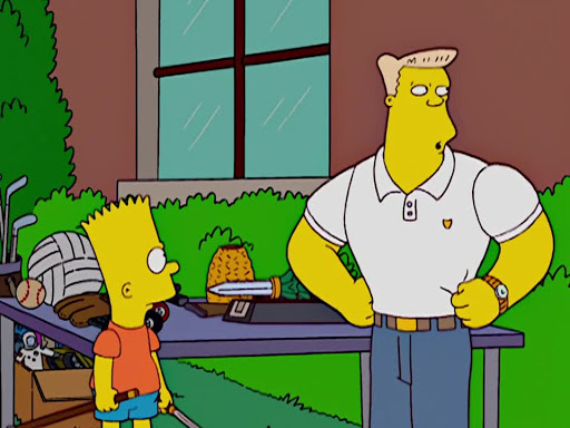 Los Simpsons 14x09 Los Brazos Fuertes de Mamá
