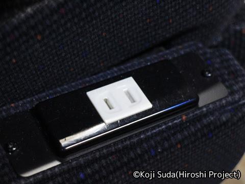 南海バス「サザンクロス」長岡・三条線 ・518 座席コンセント