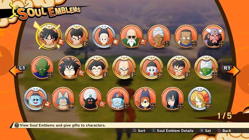 Hình ảnh các nhân vật cũng chính là Soul Emblem