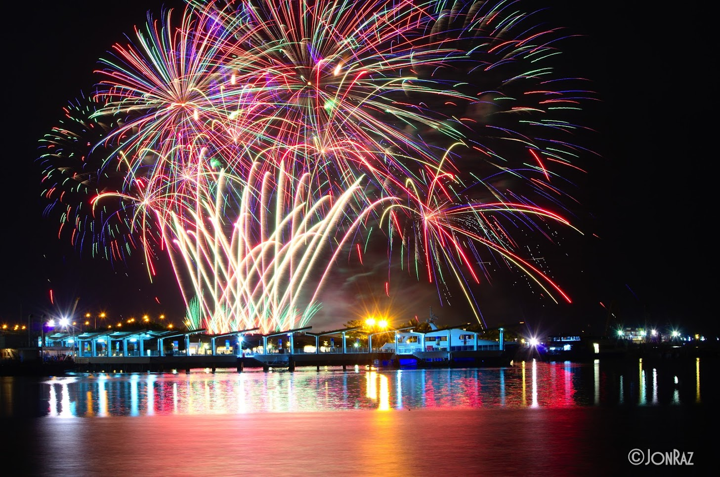 8th Philippine International Pyromusical Competition (Lidu Fireworks vs. Polaris Fireworks)