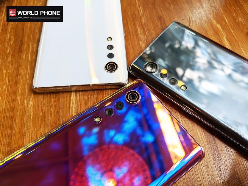Thiết kế camera độc đáo của LG Velvet