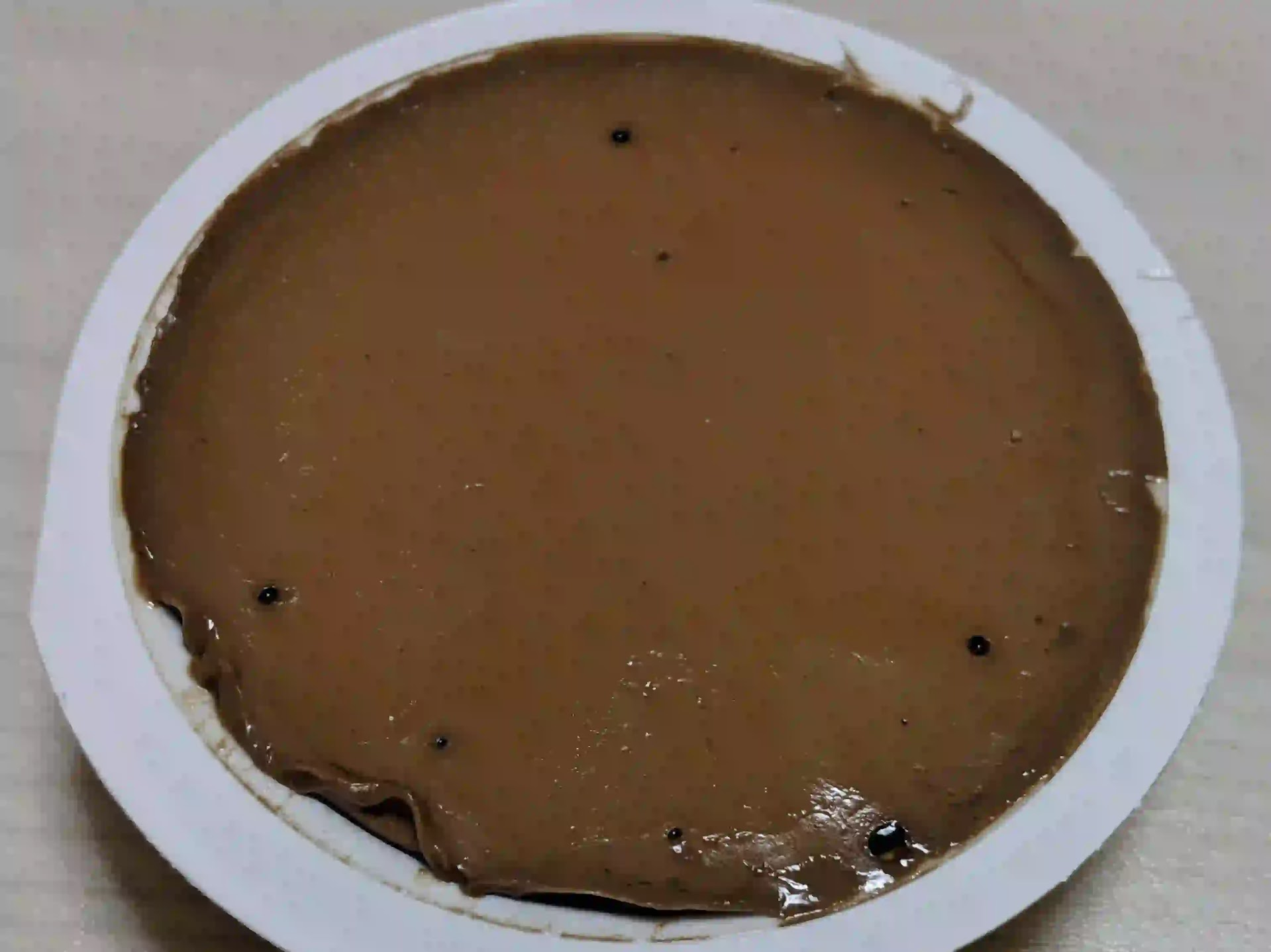 カルディプレミアムチョコレートプリン ミント 栄養成分表示