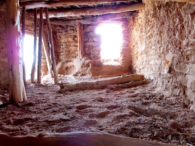 Inside Gould Pass ruin