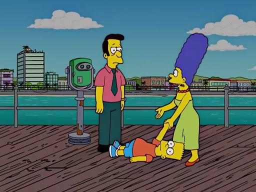 Los Simpsons 17x05 El Envenenamiento del Hijo de Marge