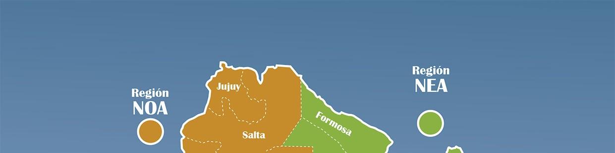 Mapa Regiones Culturales
