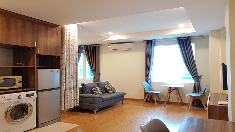 Cheap studio apartment in Xuan Dinh street, Tay Ho district for rent