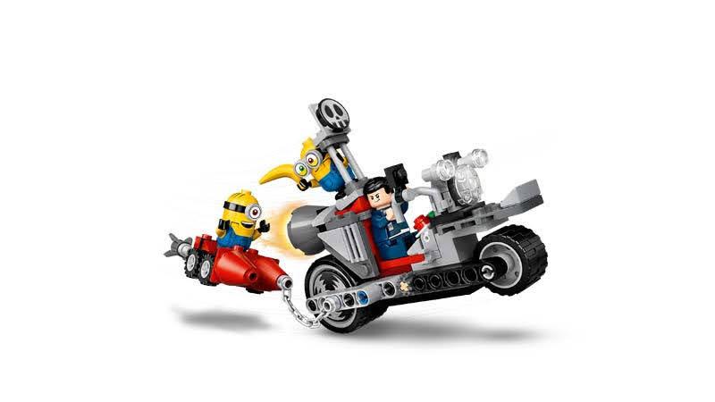 Contenido de LEGO® 75549 Persecución en la Moto Imparable