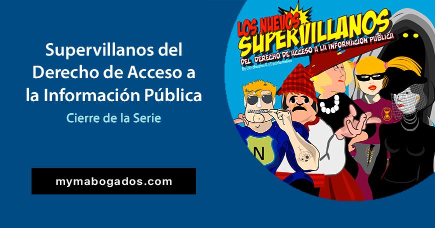 Los Nuevos Supervillanos. Cierre de la Serie | Melián Abogados
