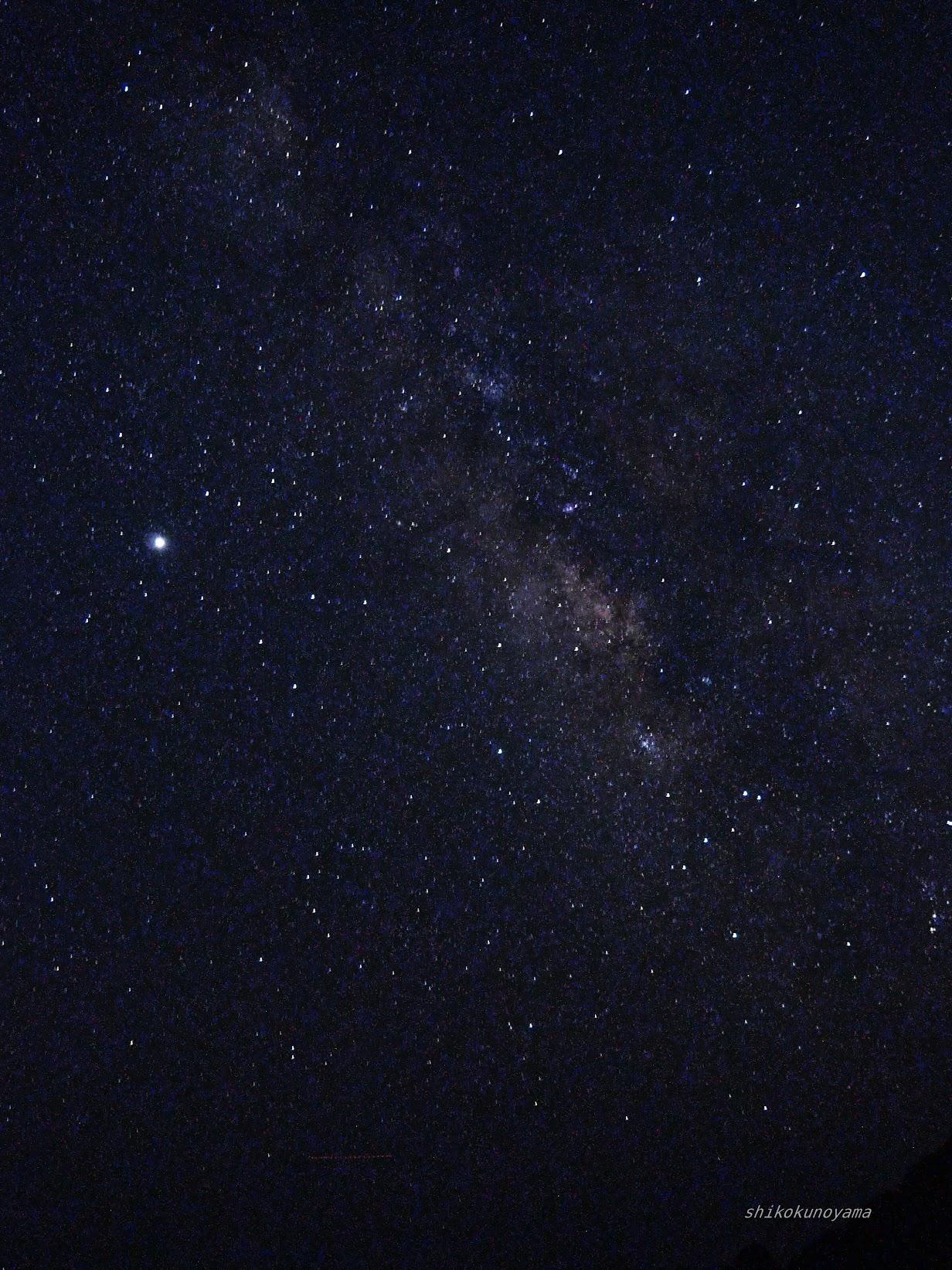 ペルセウス流星群 五色の浜