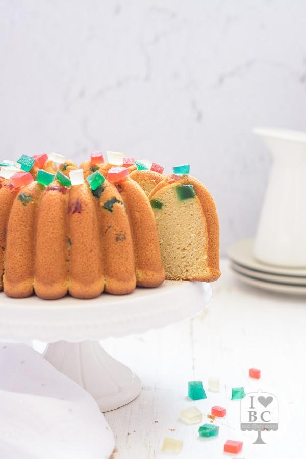 Bundt Cake de Panettone