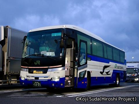 JRバス東北「ドリーム青森・東京(ラ・フォーレ)号」 H677-16403 羽生パーキングエリアにて_01