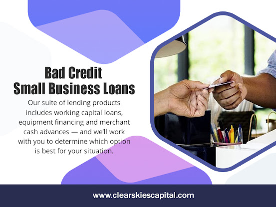 Bad Credit Small Business Loans