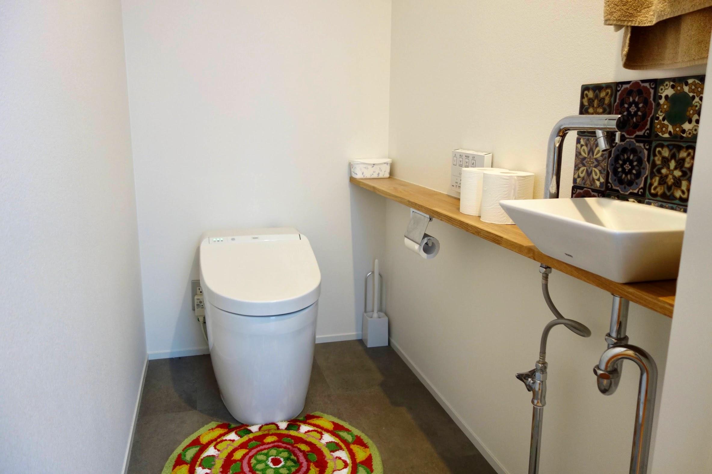 1階の大きな収納部屋_トイレ