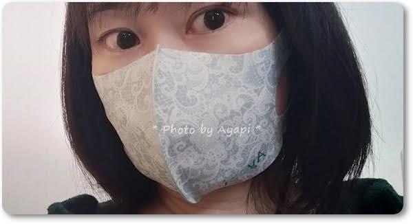 オリジナルマスク着画1
