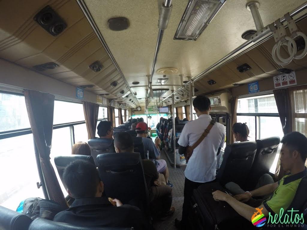 Bus 14 Vientiane