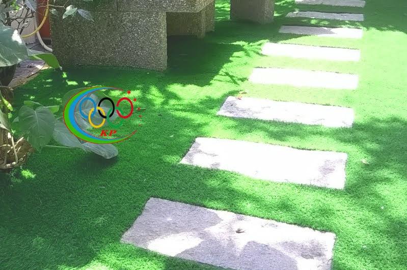 Thảm cỏ nhựa sân vườn của thảm nhựa PAP chuyên thiết kế nội thất