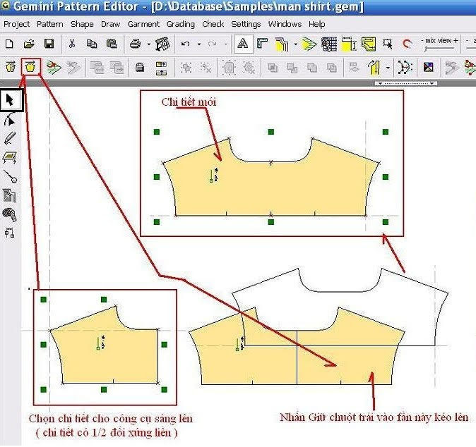 Gemini Pattern Editor Chức Năng Các Lệnh – Phần 2 6