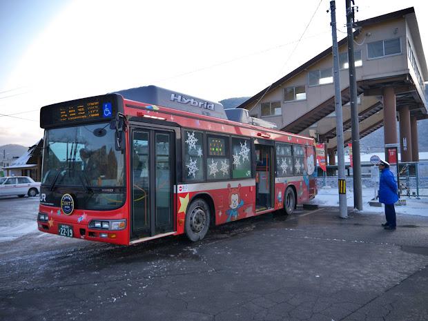 BRT車両のラッピング「海の子ホヤぼーやの巻」