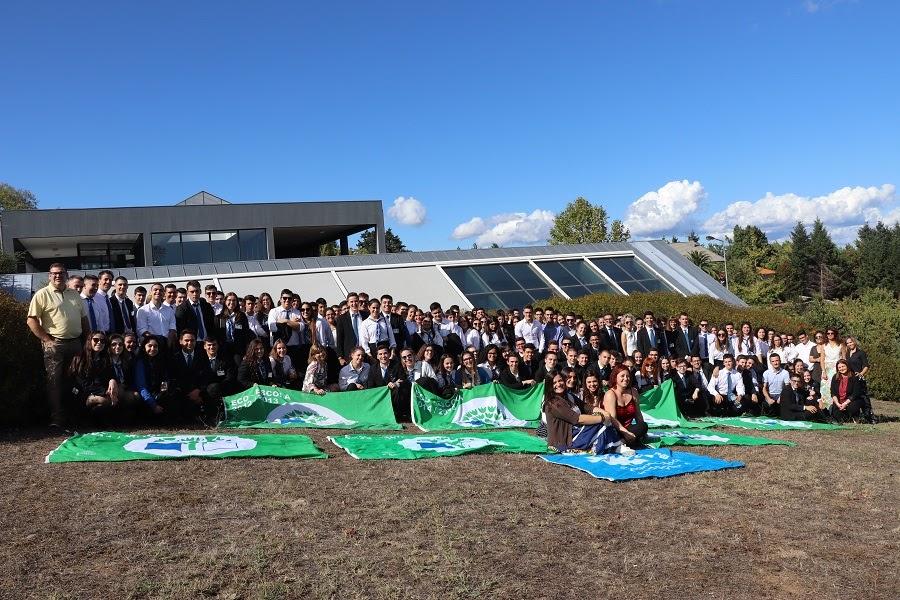 Escola de Hotelaria e Turismo do Douro – Lamego recebe Bandeira Verde Eco Escolas pelo 9º ano consecutivo
